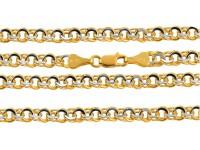 łańcuszki złoto pr. 585
