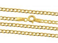 łańcuszki złoto pr. 333